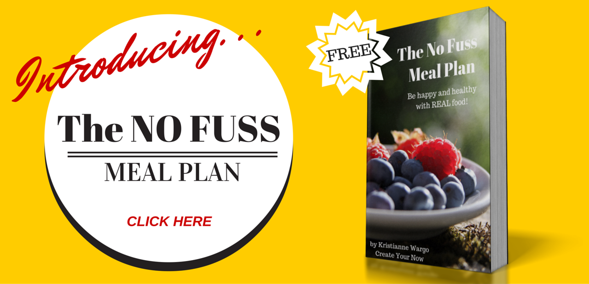 Get The NO Fuss Meal Plan HERE!!!