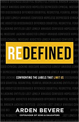 Book called Redefined, confronting the labels that limit us
